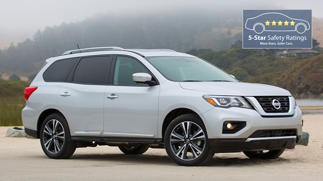 New 2017 Nissan Pathfinder engine adds power and torque, without a loss in fuel economy.