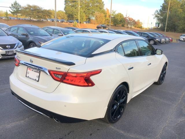 2017 Nissan Maxima Sr Midnight Edition Pearl White Nissan Of