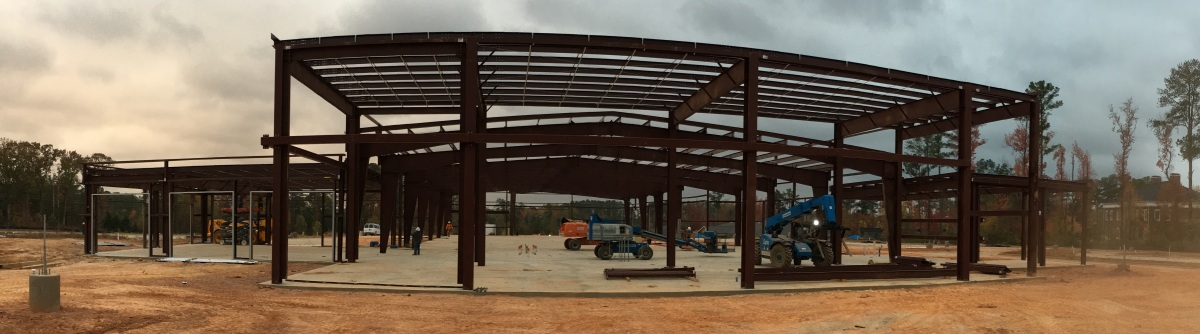 Construction Continues on Saturday and Sunday this weekend for Nissan of LaGrange's New Location
