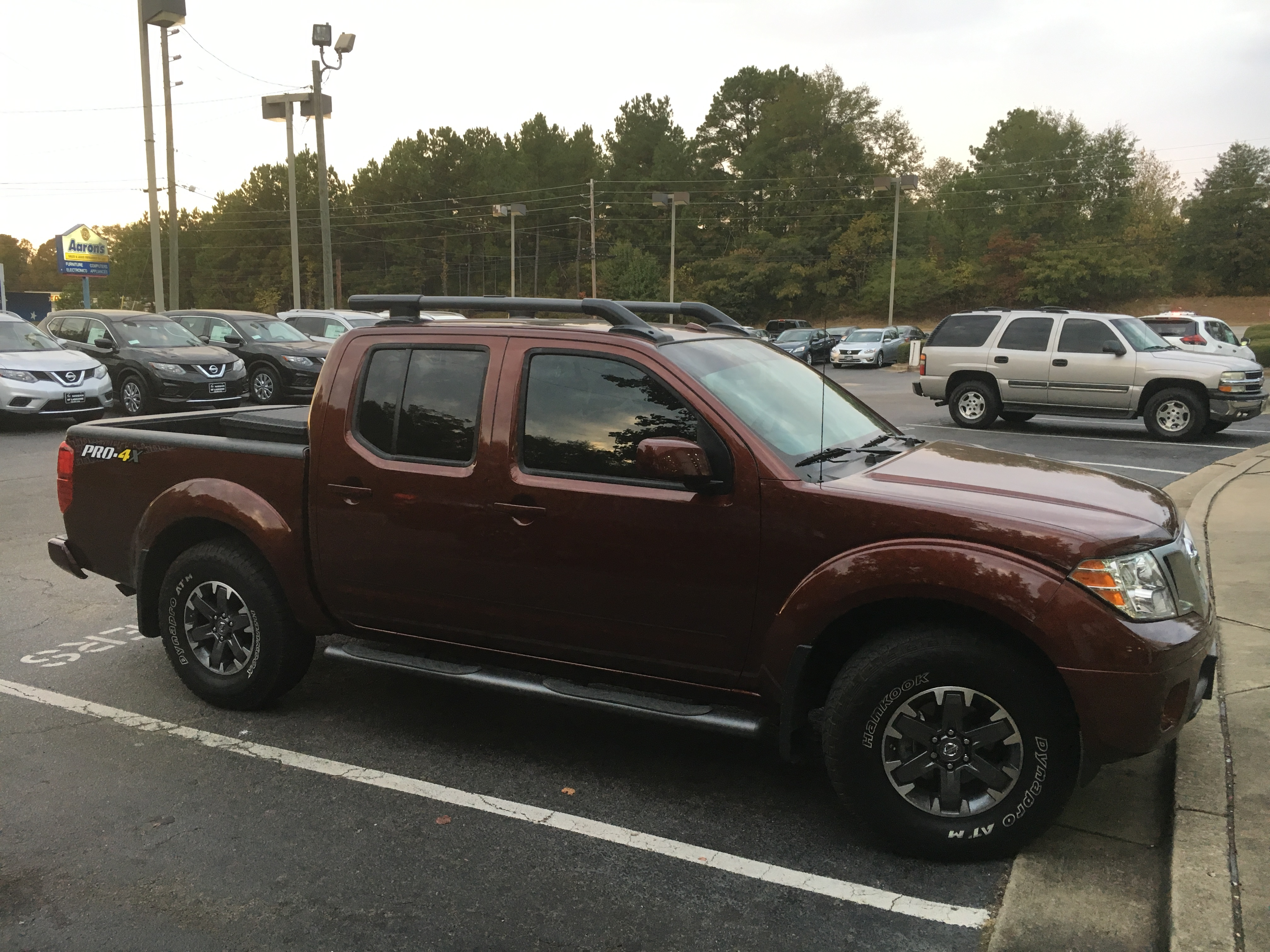 preowned 16 frontier crew cab pro4x forged copper nissan of lagrange