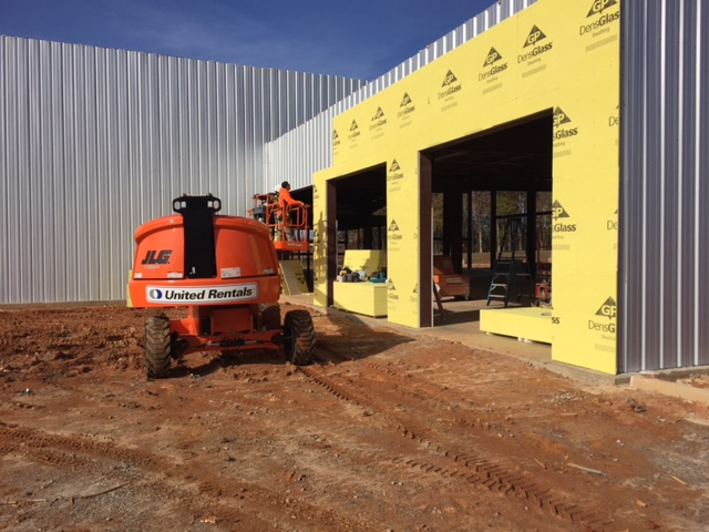 Progress continues on new Lafayette Parkway location for Nissan ofLaGrange