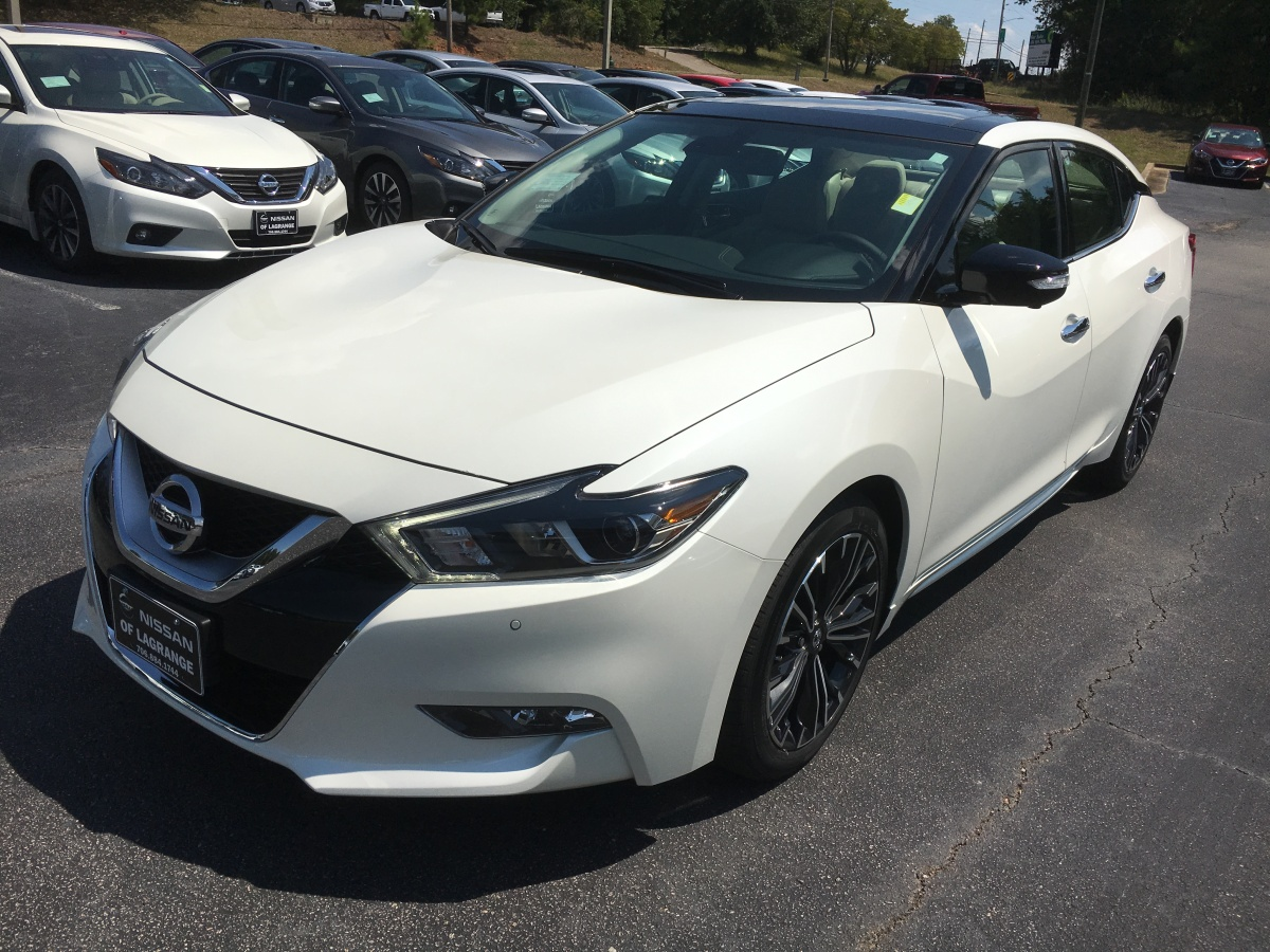 2017 Nissan Maxima Platinum with the hard to find Medallion Package has arrived at Nissan ofLaGrange