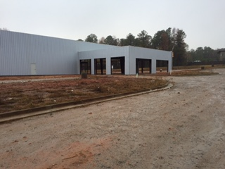 New Nissan Dealership Facility Continues to Rise on the Parkway in LaGrange,Georgia