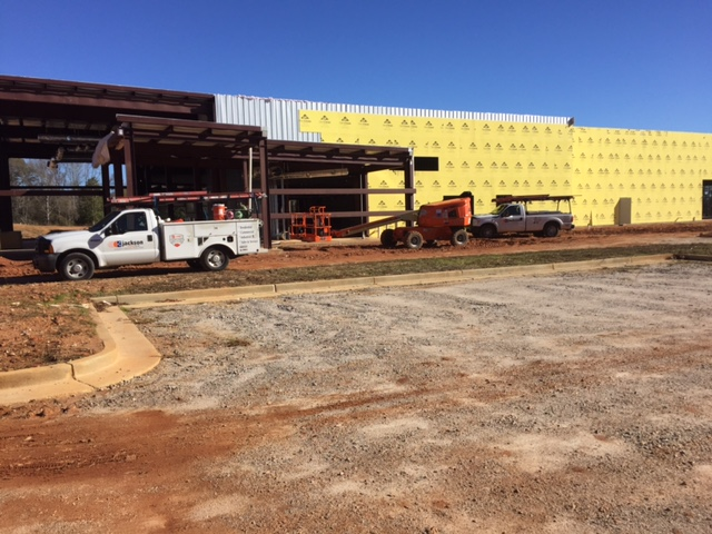 Final Construction Update for 2016 – The New Nissan of LaGrange is Rising Quickly