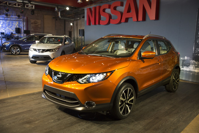 Brand-New 2017 Rogue Sport will be on sale this Spring at Nissan of LaGrange