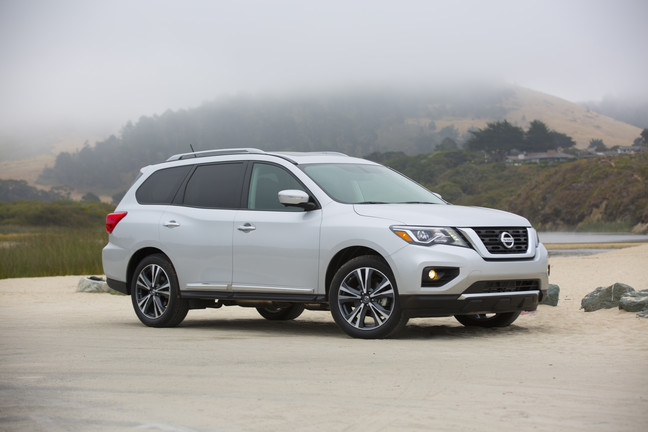 2017 Nissan Pathfinder named one of the 12 Best Family Cars of 2017 by KBB.com 4 years in a row!