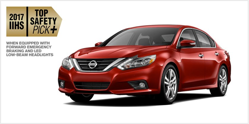 Nissan Altima LaGrange IIHS top Safety Pick