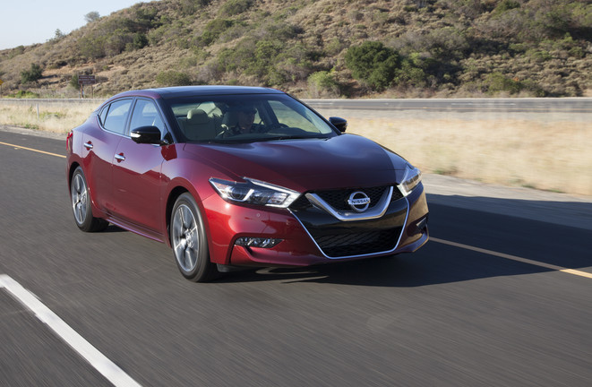 2017 Nissan Maxima Coulis Red Nissan of LaGrange