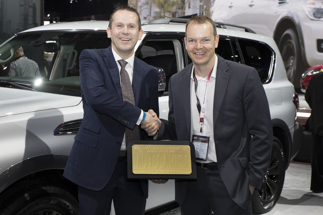 "2107 Nissan Armada named ""SUV of the Year"" by Popular Mechanics magazine!"