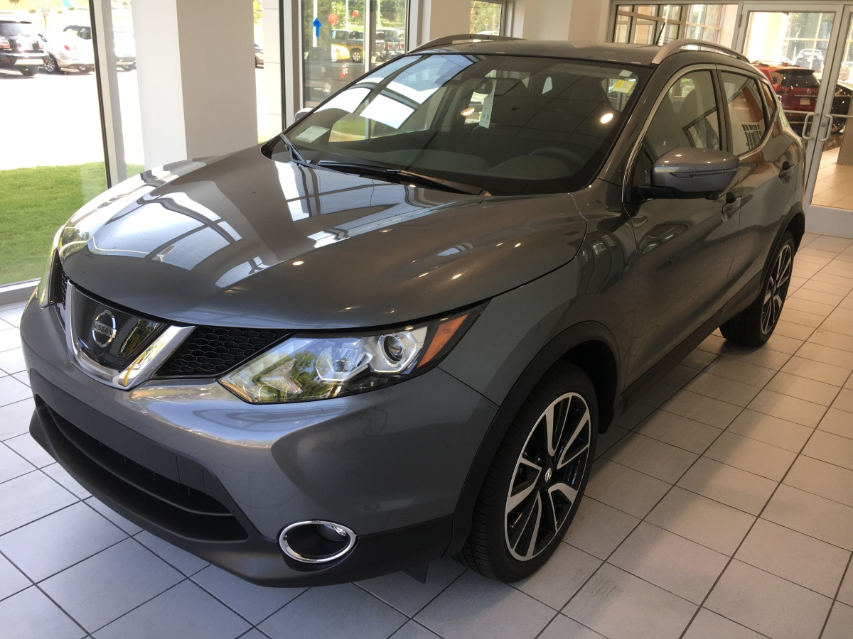 2017 Nissan Rogue Sport SL with Premium and Platinum Packages now available at Nissan of LaGrange!