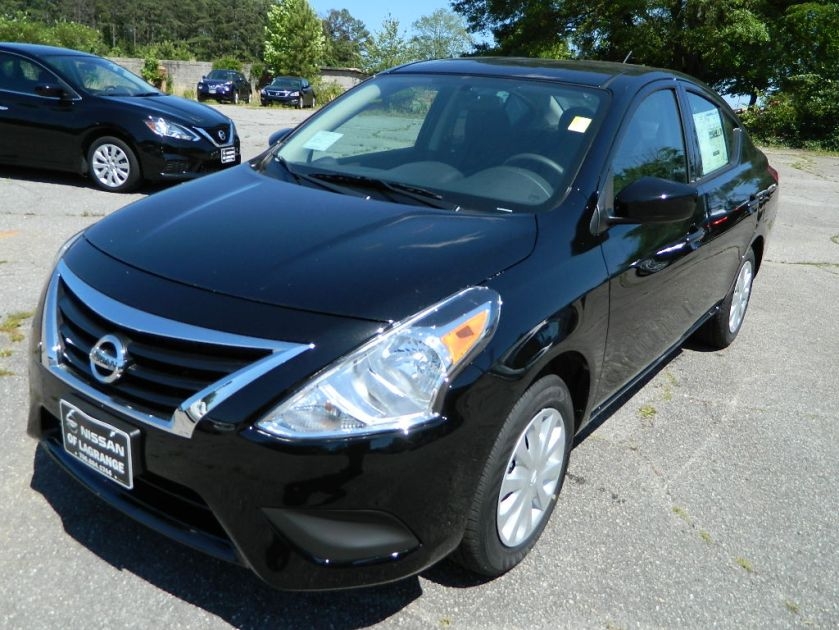 17 Versa S Manual Super Black Nissan of LaGrange Atlanta Auburn Columbus Newnan (1)