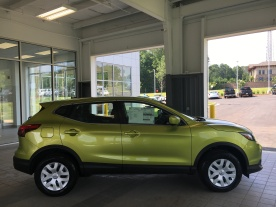 2017 Rogue Sport S Nitro Lime Nissan of LaGrange Atlanta Auburn Columbus Newnan Carrollton (4)