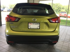 2017 Rogue Sport S Nitro Lime Nissan of LaGrange Atlanta Auburn Columbus Newnan Carrollton (6)