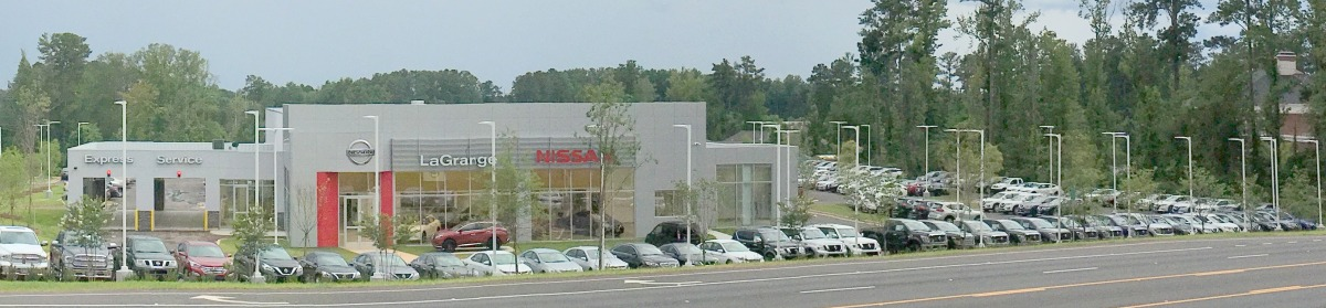 Nissan of LaGrange now open at on the Parkway, 1050 Lafayette Parkway that is!
